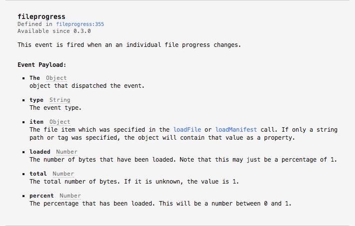 PreloadJS v0.3.0 API Documentation